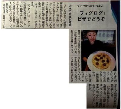 HITOTSUのフィグログとpizza